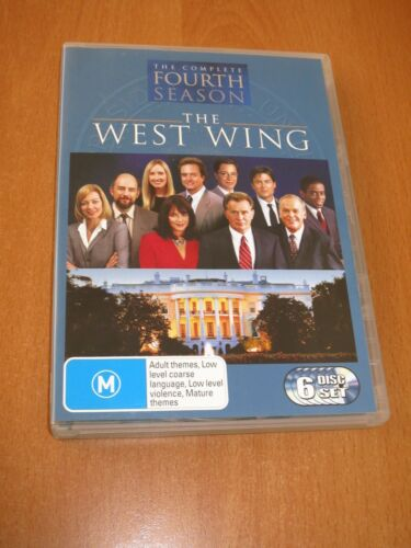 THE WEST WING : THE COMPLETE SEASON 4 - ( 6-DISC ) SET DVD [ R4 ] * LIKE NEW *