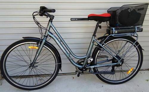 Electric Bicycle Excellent Condition, Rarely Used