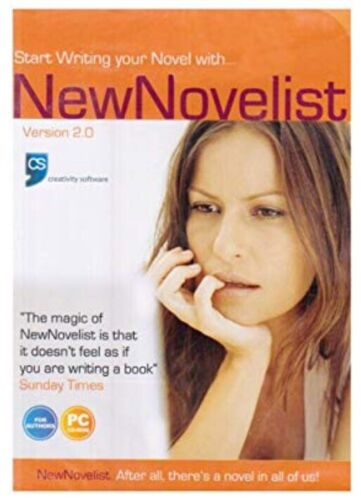 New Novelist Software Version 2 PC CD-ROM Brand New Sealed Free Postage 🇦🇺