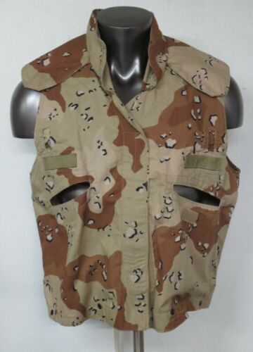 US ARMY DESERT Cover PAGST Vest Camouflage Cotton Nylon Mens Small Medium S/MOriginal Period Items - 10953