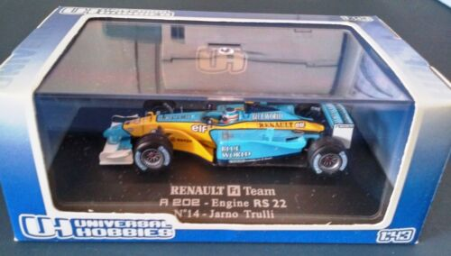 RENAULT F1 TEAM R202 N°14  -  1/43 COLLECTION VOITURE UNIVERSAL HOBBIES UH1697