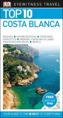 Top 10 Costa Blanca by Dk Travel Paperback Book Free Shipping!