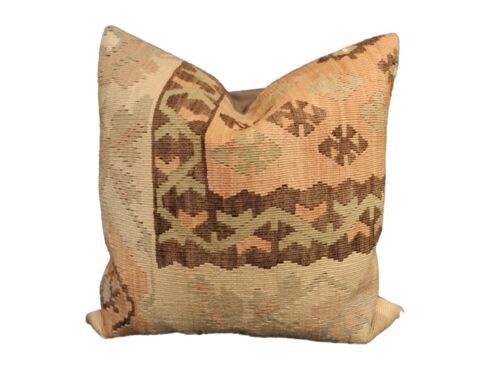 """Superb Old  Turkish Tribal Kilim Pillow 20"""" by 20"""""""