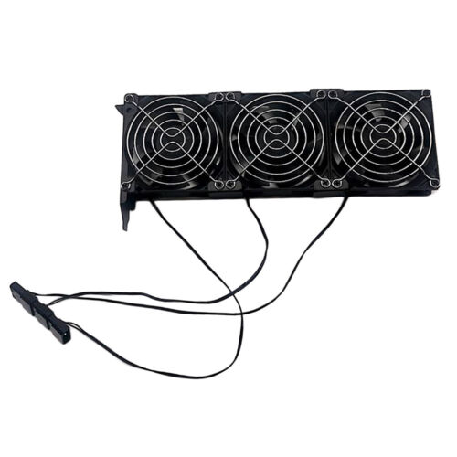 PCI Slot Fan VGA Cooler, Three Quiet 90mm Video Graphics Card Cooling Fans