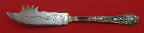 """Medici Old by Gorham Sterling Silver Cheese Knife w/ Pick Brite-Cut 7 5/8"""" Orig"""