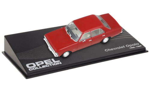 OPEL CHEVROLET OPALA rouge 1/43 VOITURE MINIATURE COLLECTION IXO CAR -107