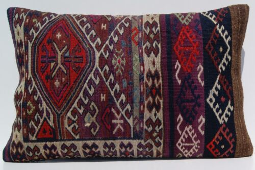 """Same old quote pillow cover 24""""x16"""" Kurdish Herkhi pillow covers kelim area rugs"""