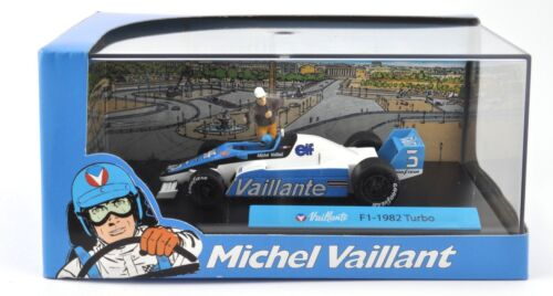 Michel Vaillant Le Mans F1-1982 TURBO- 1/43 IXO ALTAYA VOITURE DIECAST MODEL V10
