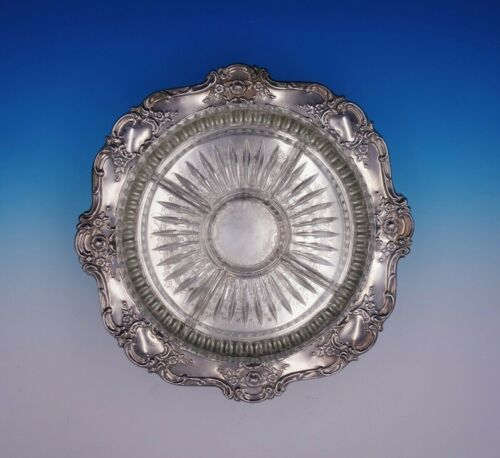 Old Master by Towle Silverplate Relish Tray with Glass Liner #4023 (#3274)