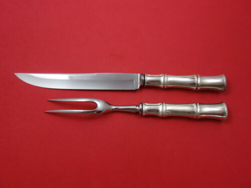 Bamboo By Tiffany & Co. Sterling Silver Steak Carving Set 2-Piece