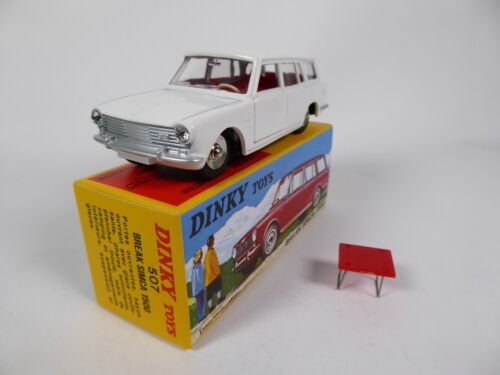 Simca 1500 Break + table - 1/43 DINKY TOYS 507 Voiture Miniature MB414