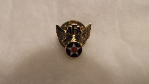 "Vintage Air Force Association ""AFA"" Red, White and Blue Enamel Star"" Tie TackAir Force - 66528"