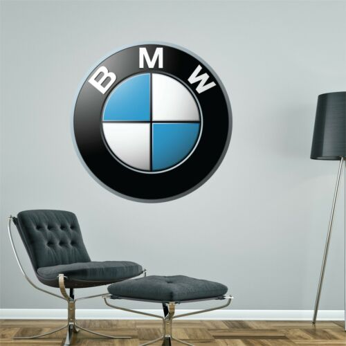 Bmw Logo Wall Sticker Bedroom Art Decal Mural Car Graphic