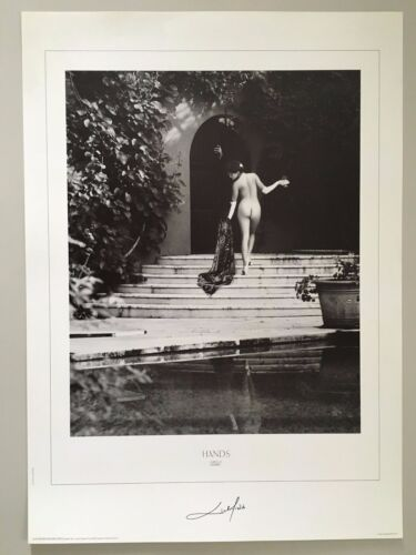 SEXY  LADY,HANDS, PHOTO BY PATRICK LICHFIELD,AUTHENTIC 1991 PRINT