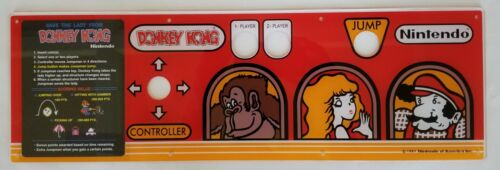Top Holiday Gifts DONKEY KONG SCREEN PRINTED CPO WITH INSTRUCTION CARD     PERFECT!