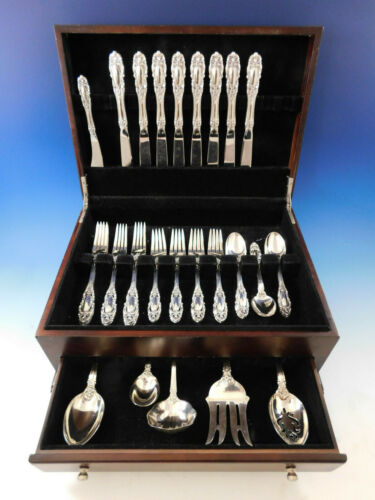 Grand Duchess by Towle Sterling Silver Flatware Set for 8 Service 38 pieces