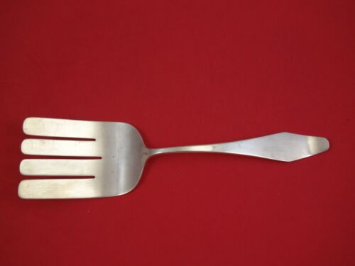 """Old Newbury Crafters ONC Sterling Silver Asparagus Fork 9 5/8"""" Serving"""