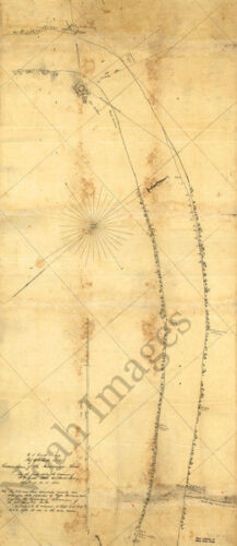 Reconnoissance of the Mississippi River c1862 map 16x36