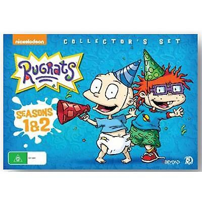 RUGRATS -SEASON 1 & 2 DVD - COLLECTOR'S SET - NEW / SEALED - NICKELODEON
