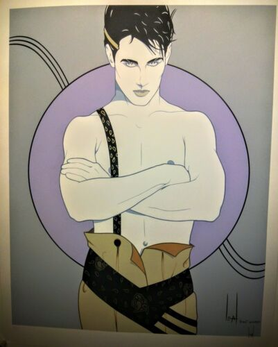 """Steve Leal - """"Adam""""  hand signed and numbered serigraph"""