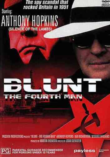 BLUNT THE FOURTH MAN  (Anthony Hopkins) dvd...RARE...LIKE NEW CONDITION.R4