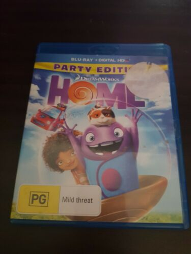 Dreamworks Home (Blu-ray, 2015) good condition free Post