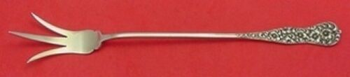 """Rococo by Dominick and Haff Sterling Silver Lettuce Fork 9 1/8"""""""