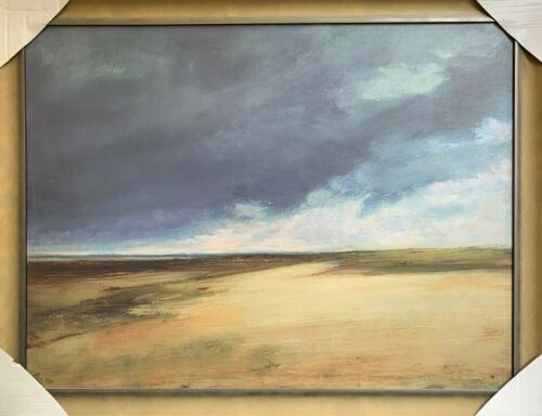 """Anne Packard Giclee on canvas """"Province Land"""" - Framed"""