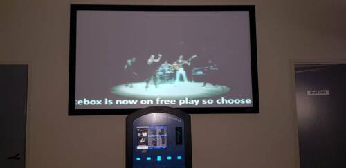 NIGHTLIFE COIN OPERATED VIDEO JUKEBOX SYSTEM SUIT PUB or CLUB