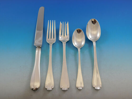 Flemish by Tiffany and Co Sterling Silver Flatware Set for 8 Service 40 Pieces