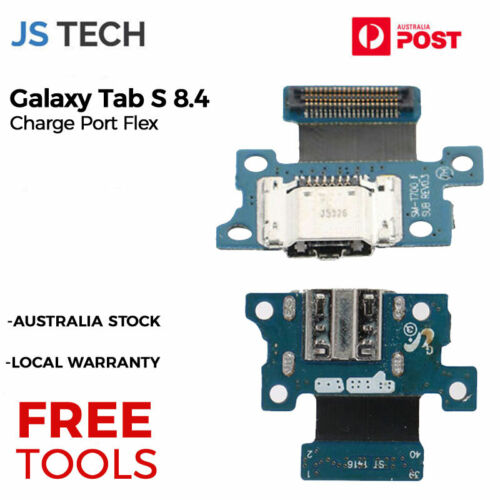 New Charger Charging Port Replacement for Samsung Galaxy Tab S 8.4 with Free Too