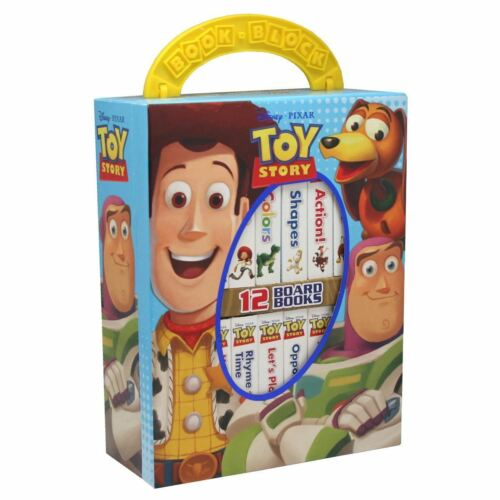 NEW Disney Pixar Toy Story 12 Board Books Kids Early Learning Collection Set!