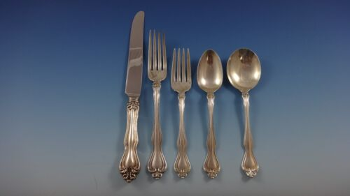 George and Martha by Westmorland Sterling Silver Flatware Set 8 Service 42 Pcs