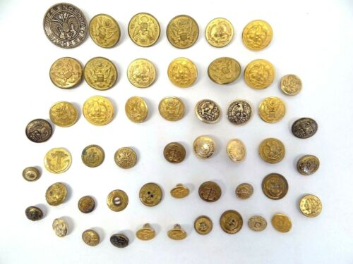 us military brass buttons | Militaria (US)