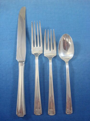 John & Priscilla by Westmorland Sterling Silver Flatware Service Set 24 Pieces
