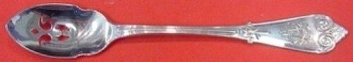"""Beekman by Tiffany and Co Sterling Silver Olive Spoon Pierced Custom 5 5/8"""""""