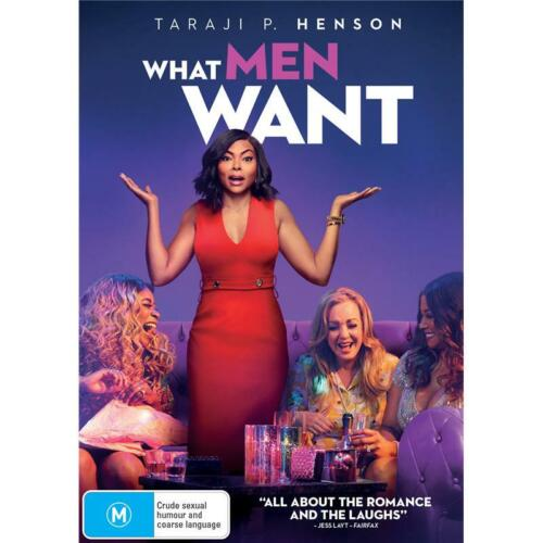 What Men Want (DVD, 2019)