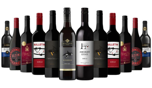2700+ SOLD! AU Premium Red Wines ft Andrew Peace, Zilzie 12x750ml RRP$359 FreeS/