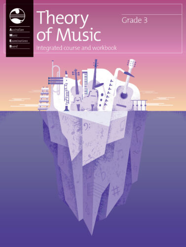 AMEB Theory of Music Integrated Course & Workbook - Grade 3 - Brand new