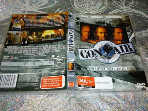 CON AIR - EXTENDED EDITION (DVD, MA15+ ) (146700 A)
