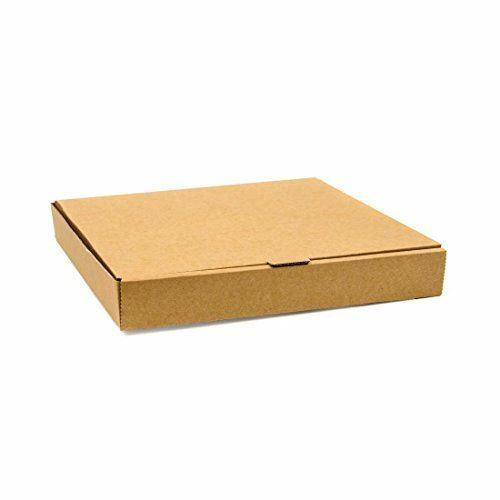 """Fiesta Compostable Plain Pizza Boxes 14"""" Material - Cardboard Pack Quantity - 50"""