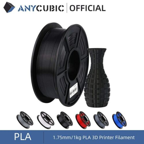 US ANYCUBIC 1.75mm PLA/ABS/ PETG/TPU Filament for 3D Printers Mega Chiron Kossel