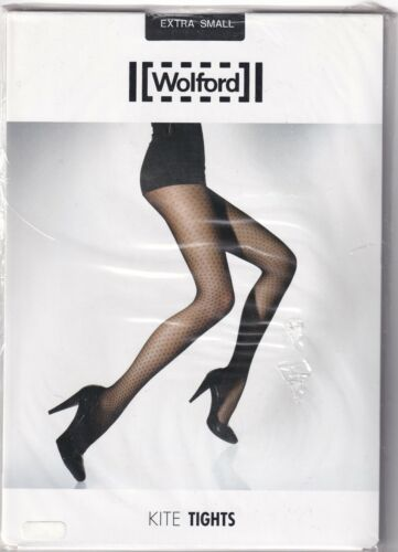 Collant WOLFORD SATIN OPAQUE 50 coloris Nearly Black Taille XS Tights.