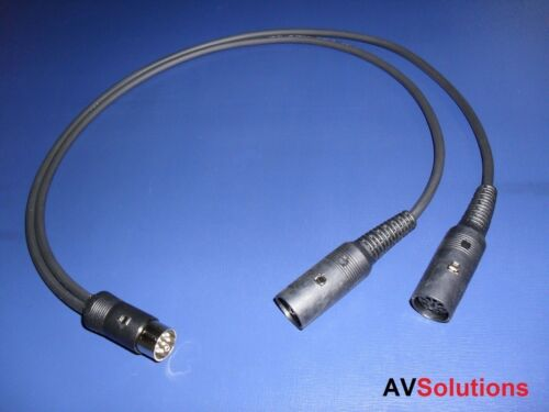 Bang /& Olufsen Compatible V3 PowerLink Beolab Speaker Cables 5M Each  Free Post