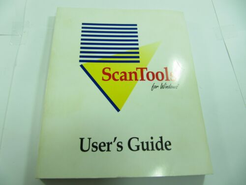 SCANTOOLS FOR WINDOWS USER GUIDE NCS MCQ TEST SCORE SHEET SCANNER READER OMR