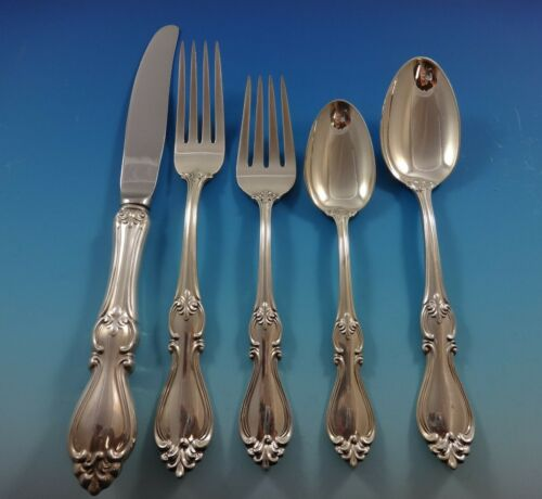 Queen Elizabeth I by Towle Sterling Silver Flatware Set For 8 Service 44 Pieces