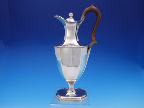 English London Sterling Silver Wine Water Pitcher Ewer c.1925 17.59ozt (#3629)