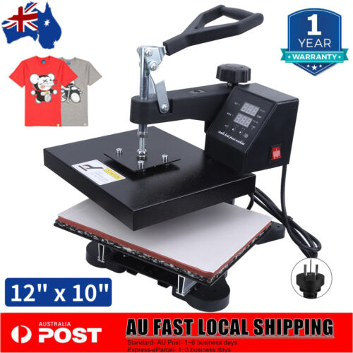 "High Pressure Heat Press Transfer Sublimation Printer T-Shirt 12"" * 10"" Quality"