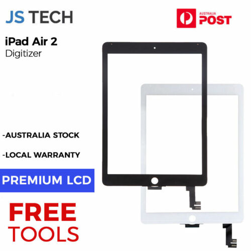 New Digitizer Display Touch Screen Replacement for iPad Air 2 6th Gen iPad with