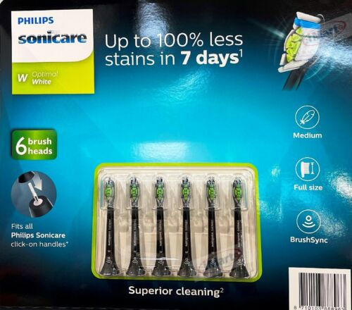 6Pack Philips Sonicare Diamond Clean Replacement Electric Toothbrush Heads